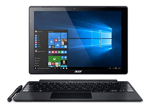 "Acer Switch Alpha 12 2-n-1, 12"" QHD Touch, Intel Core i5, 8GB Memory, 256GB SSD, Windows 10 Home, SA5-271-55WD & Stylus"