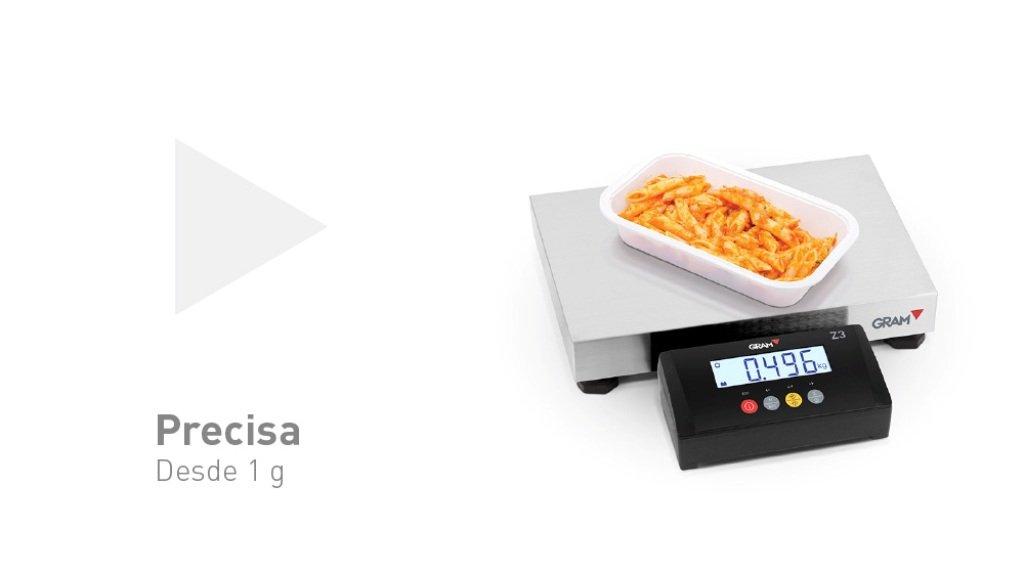 Báscula Plataforma de peso GRAM z3t con visor incorporado. (400x300) 60Kg/10g.Modelo 2017: Amazon.es: Industria, empresas y ciencia