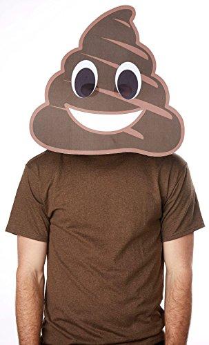 Bobble Hedz Giant Poop Emoji Mask