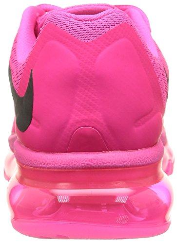 Nike Damen Air Max 2015 Laufschuhe Rosa Folie / Schwarz-rosa Pow
