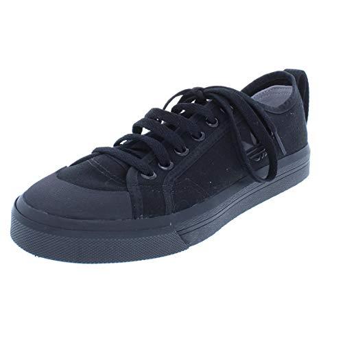 Raf Simons Womens Spirit Buckle Canvas Fashion Casual Shoes Black 7 Medium (B,M)