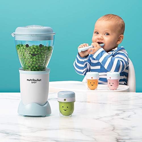 41A K5QIK0L. AC - NutriBullet NBY-50100 Baby Complete Food-Making System, 32-Oz, Blue