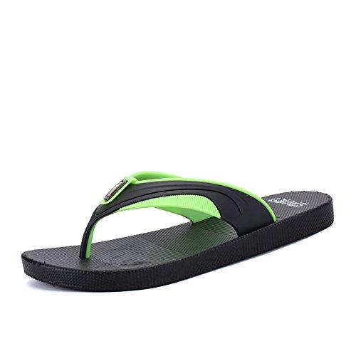 playa el agarre verano zapatillas de antideslizantes de green Black chanclas Hombre zapatillas A48qBtZwnx
