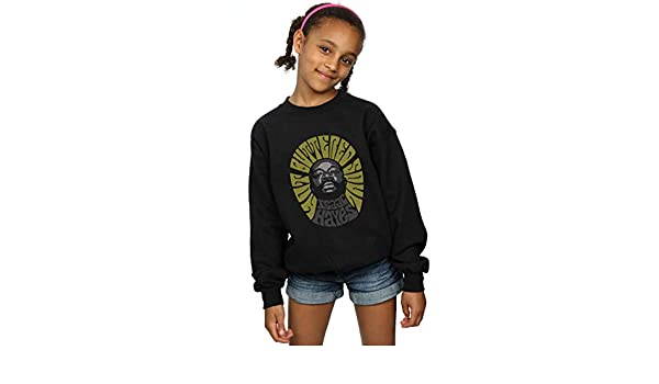 Isaac Hayes Girls Hot Buttered Soul Greyscale Sweatshirt