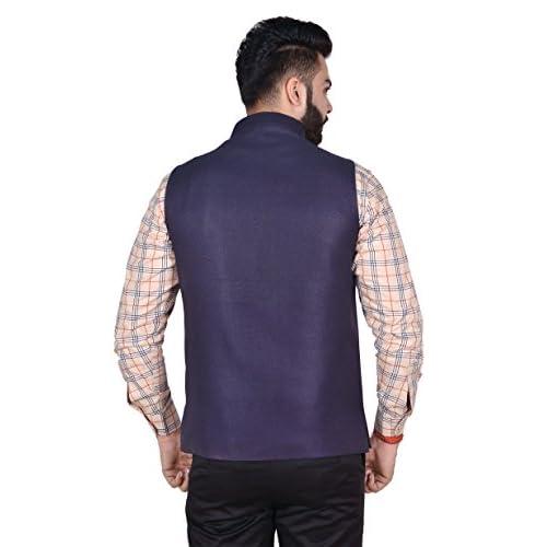 41A Lm6D48L. SS500  - OORA Men's Cotton Blend Woven Nehru and Modi Jacket