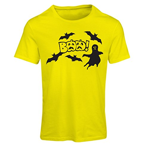 Secy Halloween Costumes (T shirts for women BAAA! - Funny Halloween Costume ideas, cool party outfits (Large Yellow Multi Color))