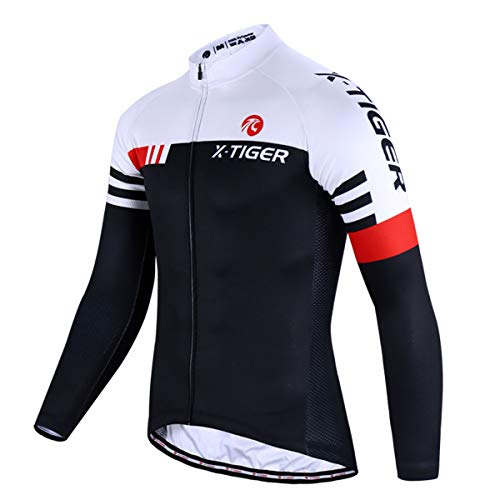 X-TIGER Cycling Bike Jersey Men