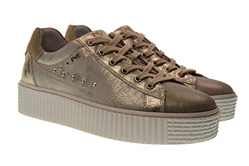 Basse 505 con Savana Nero P805281D Sneakers Scarpe Donna Piattaforma Giardini TRRF87I