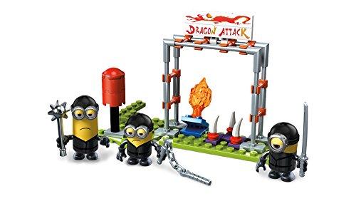 Mattel Mega Block Mega-Strax Minion's Ninja Training 82 Piece FND 05