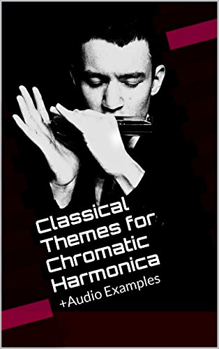 Classical Themes for Chromatic Harmonica: +Audio Examples + Harmonica ()