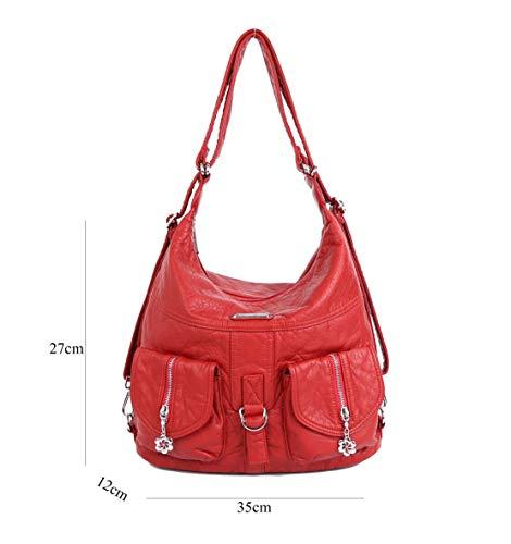 Multifunzione Casual Morbido Monospalla Borse Borse Donna Layxi Daypack Borse Messenger Tote Moda Elegante Semplice EgAA7wXx