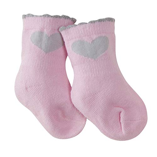 Unknown baby boys 6-pair Wiggle Proof Sock unisex hosiery