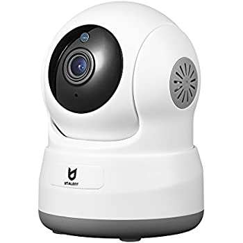 Wireless Security Camera, Utalent 720P HD Indoor WiFi Home Surveillance IP Camera with Motion Detection, Pan/Tilt, Two Way Audio, Night Vision, Baby Monitor, Nanny Cam