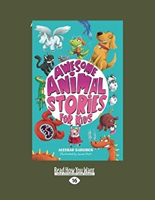 book cover of Awesome Animal Stories for Kids