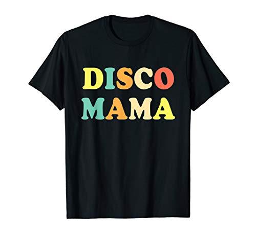 Disco Mama T-Shirt 1970s Disco Queen Matching Couple Shirt