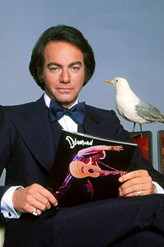 Neil Diamond Tuxedo Posing with Seagull 24x18 Poster Great Image ()