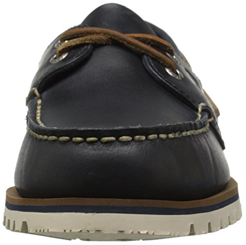 Sperry Top-Sider Mens A/O Mini Lug 2-Eye Boat Shoe Navy