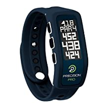 Precision Pro Golf GPS Band - GPS Golfing Accessory with 35,000 Preloaded Worldwide Golf Courses - Thinner, Lighter, and More Comfortable than the Leading GPS Golf Watch