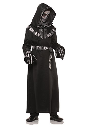Skull Master Costume - Teen, Multicolor