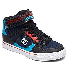 DC Kids' Pure High-top Ev Skate Shoe