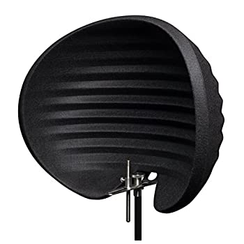 Image of Aston Microphones Halo Portable Microphone Reflection Filter, Black Acoustical Treatments
