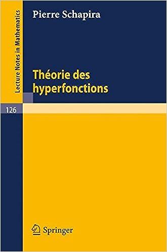 En ligne téléchargement Théories des Hyperfonctions epub, pdf