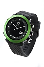 COGITO Classic Smart Bluetooth Connected Watch for Smartphones - Retail Packaging - Green Velvet