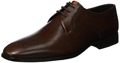 Sioux Parino, Zapatos de Cordones Derby para Hombre Marrón (Mocca)