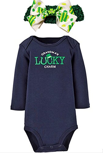 st-patricks-day-grandmas-luck-charm-baby-girl-bodysuit-plus-irish-headband-6-months