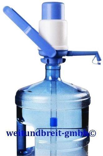 Rhino Junior Wasserpumpe manuell Pumpe Wasserspender mit Tragegriff Luftfilter
