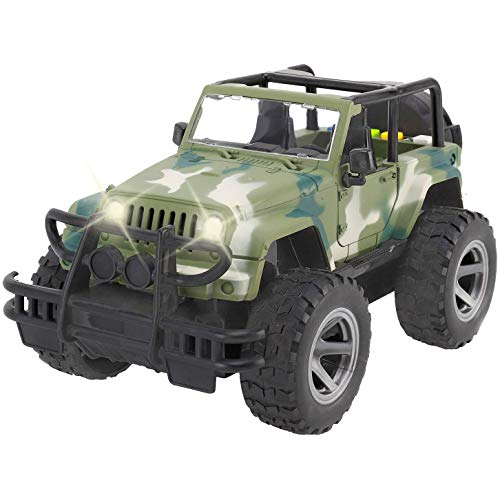 Liberty Imports Off-Road Friction Powered Military for sale  Delivered anywhere in USA