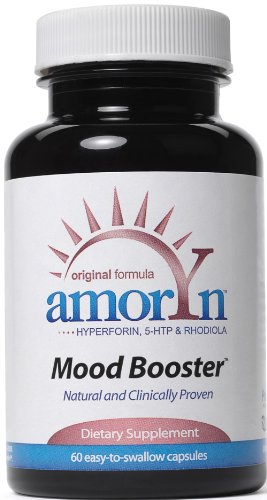 BioNeurix AMORYN, capsules Booster l'humeur, 60-Count