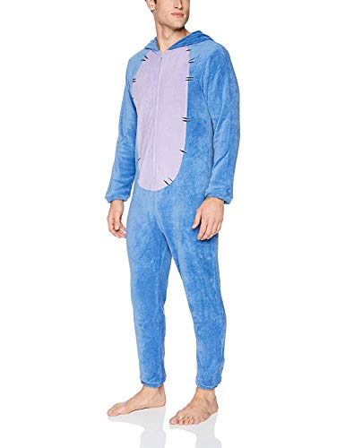 Onesies For Tall Men (Disney Men's Eeyore Union Suit, Blue,)