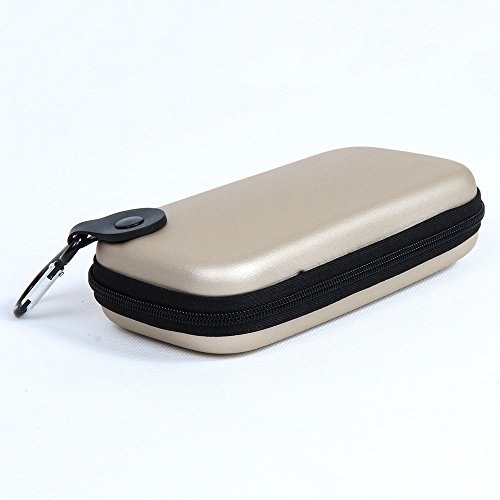 Hermitshell Travel EVA Protective Case Carrying Pouch Cover Bag for Sony Playstation PS Vita PSV PSP Anker Most Compact Portable Charger 1st 2nd Gen E6 E7 E5 E4 PowerCore 20100 Colour: Khaki
