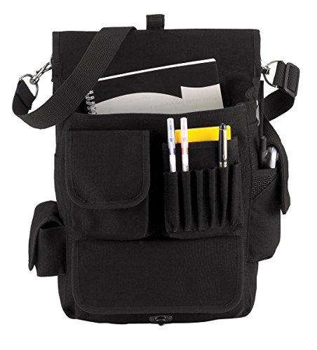 Rothco Canvas M-51 Engineers Field Bag, Black