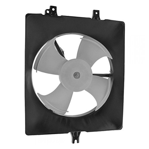 AC A/C Radiator Condenser Cooling Fan Passenger Side Right RH for TL Accord (Side Motor Cooling Fan Radiator)
