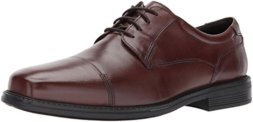 Bostonian Mens Wenham Cap Oxford Brown
