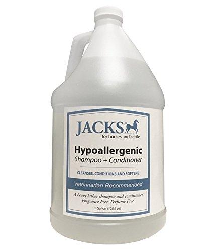 HYPOALLERGENIC 2 IN 1 SHAMPOO & CONDITIONER GALLON by JackS