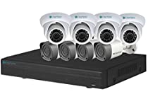 ClearView 8 Ch 1080P HD NVR Kit with 4 Dome & 4 Bullet Cameras 1 TB Drive
