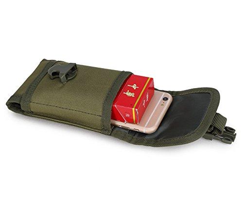 Taktische Tasche Tasche Nylon outdoor-Sport Herren Multifunktions-Display Bildschirm Handy Tasche