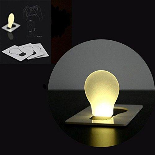 Im Freien beweglicher LED-Karten-Licht-Taschen-Mappen-Notlicht Blau