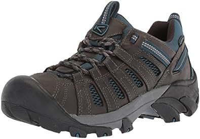 KEEN Men's Voyageur-M Hiking Shoe, Alcatraz/Legion Blue, 7 M US