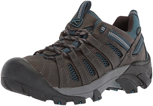 KEEN Men's Voyageur-M Hiking Shoe, Alcatraz/Legion Blue, 10.5 M ()