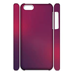 3D Simple 57 IPhone 5C Case, Anti-Slip Case Iphone 5c Cases Fashionable Okaycosama {White}