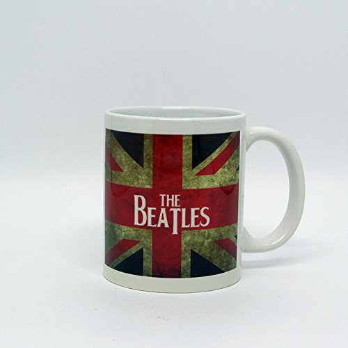 Caneca Beatles Bandeira Inglesa
