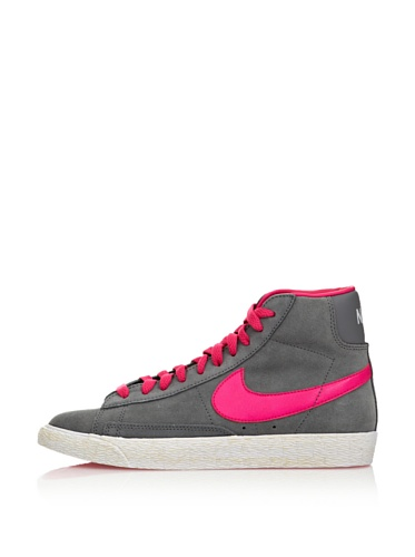 Nike Blazer Vintage (GS) Mädchen Hohe Sneakers Grau/Fuchsia