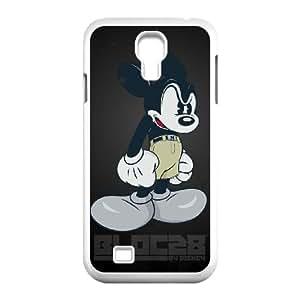 Mikey Mouse 002 funda Samsung Galaxy S4 9500 Cubierta blanca del teléfono celular de la cubierta del caso funda EOKXLKNBC25888