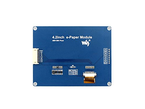 4.2inch E-Ink Display Module E-paper Electronic Screen Panel296x128 Resolution SPI Interface Examples for Raspberry Pi/STM32/Arduino Provided by waveshare (Image #3)