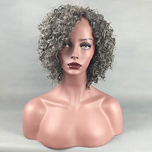 XIAOWEIBA Curly Hair Wave Hair Bob Wig Unprocessed Brazilian Virgin Wig Short Volume 32CM]()
