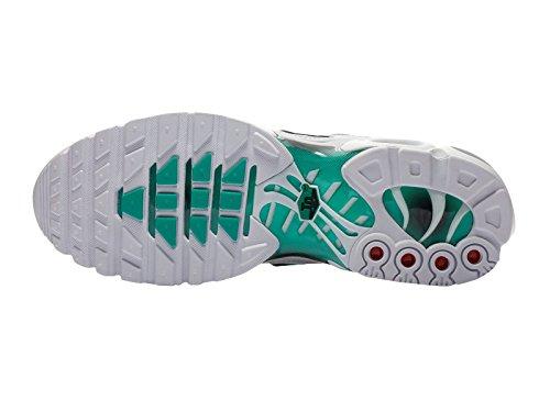 Nike Mens Air Max Plus Syntetiska Löparskor Vit / Svart / Dammig Kaktus